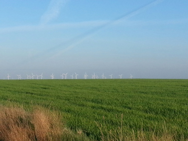 Wind Farm on the French Camino