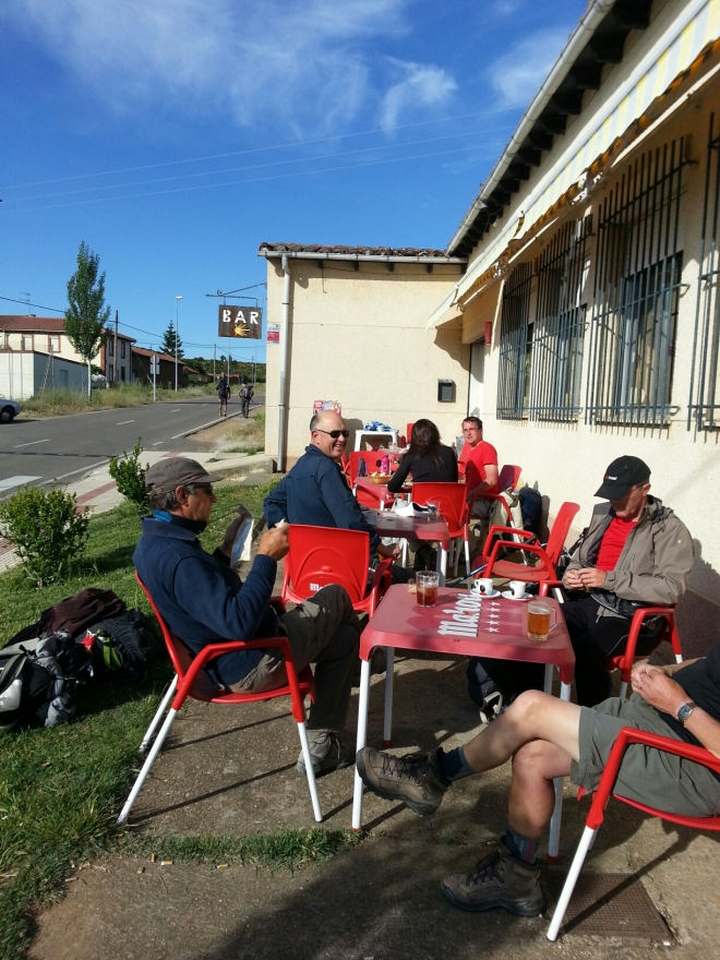 Morning Tea on the Camino