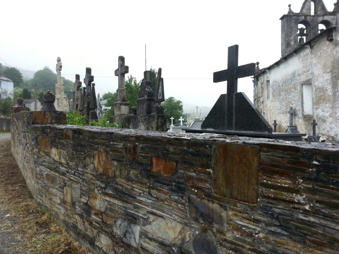 Cemetery on the Camino de Santiago