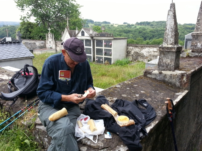 Picnic on the Camino